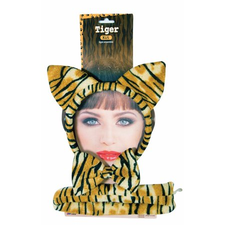 Dress Up As Animals (Halloween Tiger Dress Up Kit)