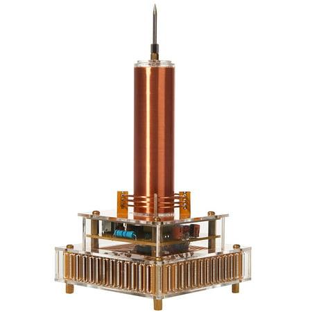 - Joytech Music Tesla Coil Acrylic Base Shell Arc Plasma Loudspeaker Wireless Transmission Experiment Desktop Model YS04