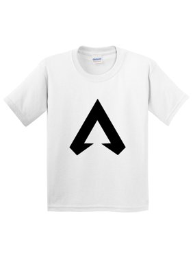ccf461ab Product Image New Way 1187 - Youth T-Shirt Apex Legends A Logo Champion  Small White