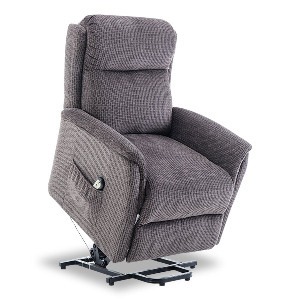 Bonzy Lift Recliner Power Lift Chair Soft And Warm Fabric