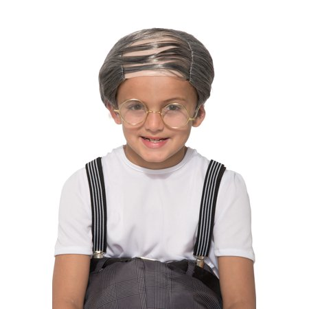 Uncle Bert Child Costume Wig (Uncle Fester With Wig)