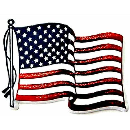 American Flag Fridge Magnet ()