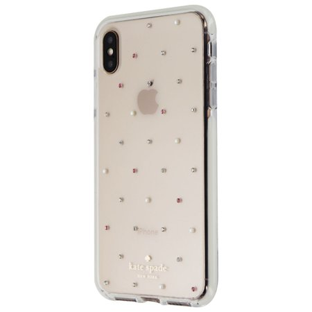best service a654a 1ebf2 Kate Spade Defensive Hardshell Case for Apple iPhone XS Max - Clear ...