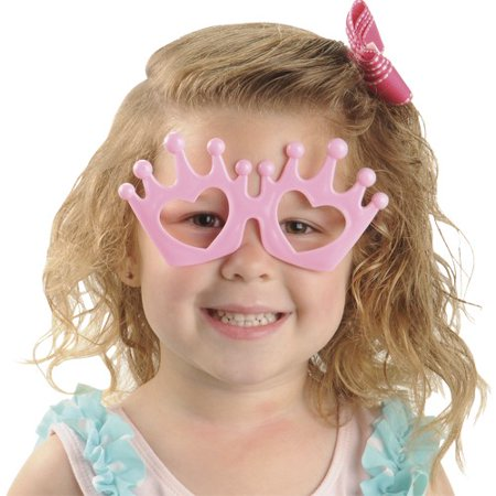 US TOY GL38 Princess Tiara Glasses - Tiara Toys