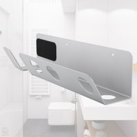 Awaymmer Magnetic Wall-Mounted Bracket Holder Storage Rack Stand Rack for Dyson Hair Dryer ,Hair Dryer Rack, Wall-Mounted Hair Dryer