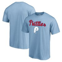 Philadelphia Phillies Fanatics Branded Cooperstown Collection Wahconah T-Shirt - Light Blue