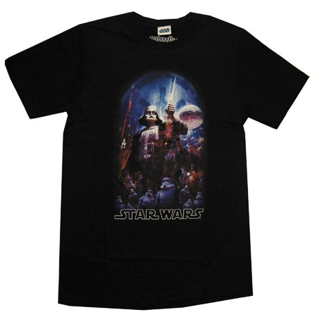 Star Wars Darth Vader The Dark Side Mighty Fine Movie Adult Tshirt (Darth Vader T Shirt)