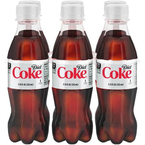 Diet Coke Soda, 8.55 Fl. Oz., 6 Count
