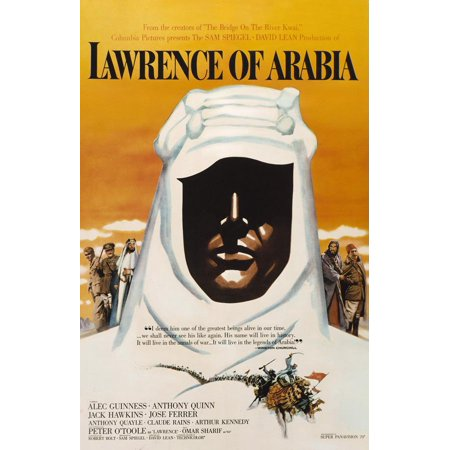 Lawrence of Arabia POSTER (27x40) (1963) (Style E) (Arabian Sheik Costume)