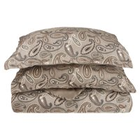 Impressions Manon Paisley Cotton Flannel Duvet Cover Set