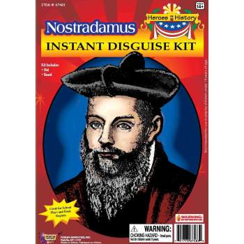 HEROS IN HISTORY NOSTRADAMUS - All Saints Day History And Halloween