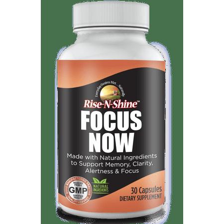 Focus Now Dietary Supplement Capsules  30 Count