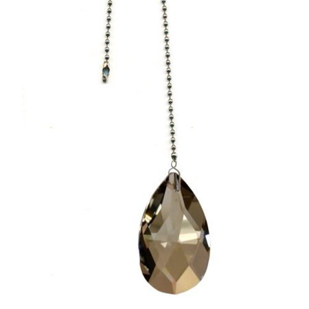 Fan Pull Chain Swarovski Crystal Almond Prism Prism Fan Accent (Colors Available) ()