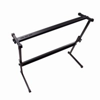 Akoyovwerve Electric Keyboard Electronic Piano Z-Shape Rack Stand Adjustable Instrument Accessories