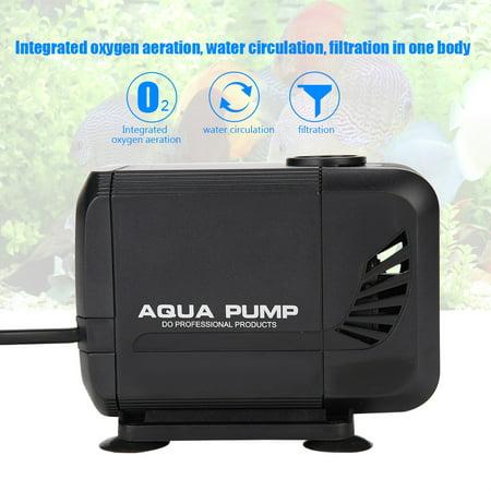 - Hilitand 30W Fish Tank Submersible Pump, Aquarium Water Pump,Fish Tank Aquarium Submersible Pump Fountain Pond Water Circulation 110V US Plug
