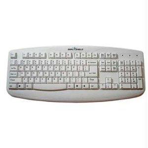 Seal Shield Silver Storm Washable Medical Grade Keyboard - Dishwasher Safe & Antimicrobial (