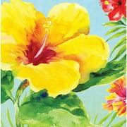Heavenly Hibiscus Napkins, 18-Pack