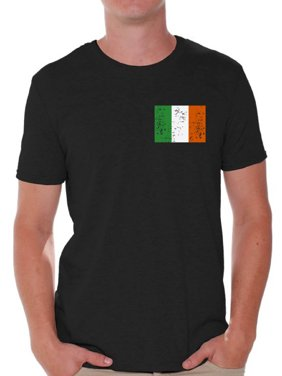 7447c990e77121 Product Image Awkward Styles Irish Flag Pocket Shirt St. Patricks Day Shirt  for Men Irish Pride T