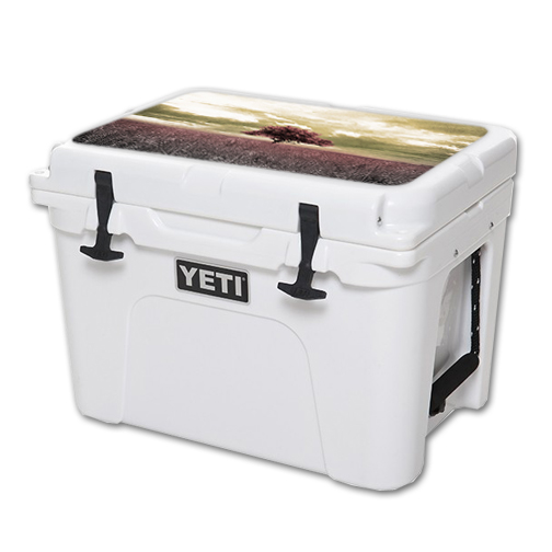 MightySkins Protective Vinyl Skin Decal for YETI Tundra 35 qt Cooler Lid wrap cover sticker skins Vintage Scene