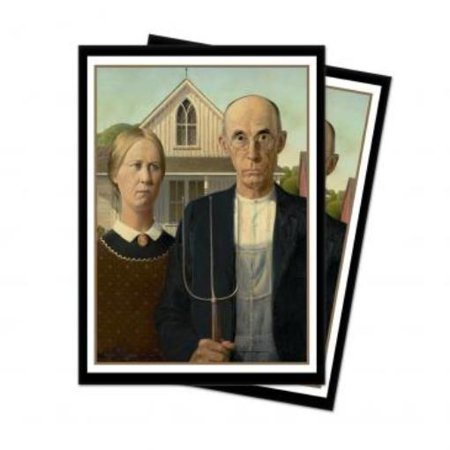 Fine Art - American Gothic Standard Deck Protector (65) (New American Eagle Deck)