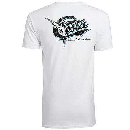 dd91ef5858d Costa Del Mar Retro Short Sleeve T-Shirt
