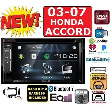 03-07 HONDA ACCORD KENWOOD TOUCHSCREEN CD DVD USB BT CAR STEREO RADIO