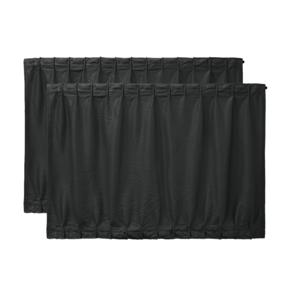 2 Pcs 70 x 47cm réglable noir VIP Voiture rideau pare-soleil pare-soleil fenêtre UV - image 7 de 7