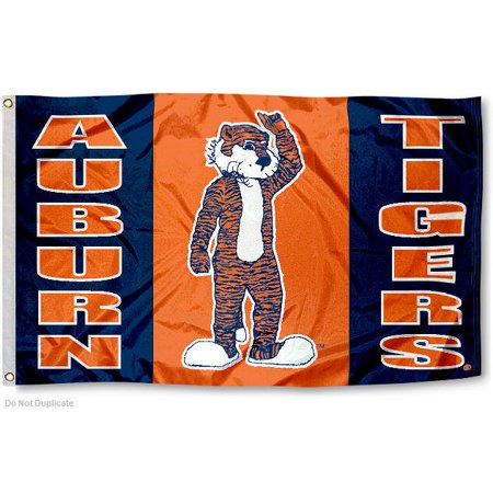 Auburn University Tigers Flag (Wood Auburn University)