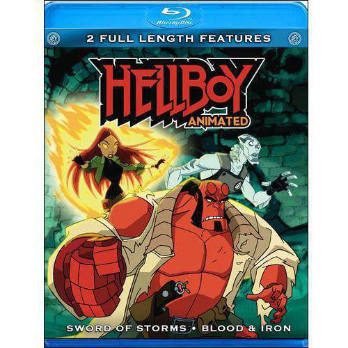 Hellboy: Sword Of Storms / Blood And Iron (Blu-ray)