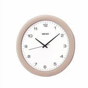 """11.75"""" Sterling Wall Clock w/ Quite Sweep Hands"""