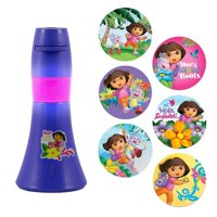 Night Light Battery, Dora The Explorer 6-image Led Cute Indoor Kids Night Light