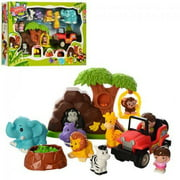 Animal World African Jungle Safari Jeep Play Set