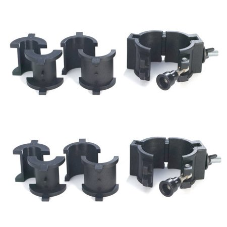 Chauvet 360 Wrap Around O-Clamps Truss Light Mounting - 75 lb Capacity (2 Pack)