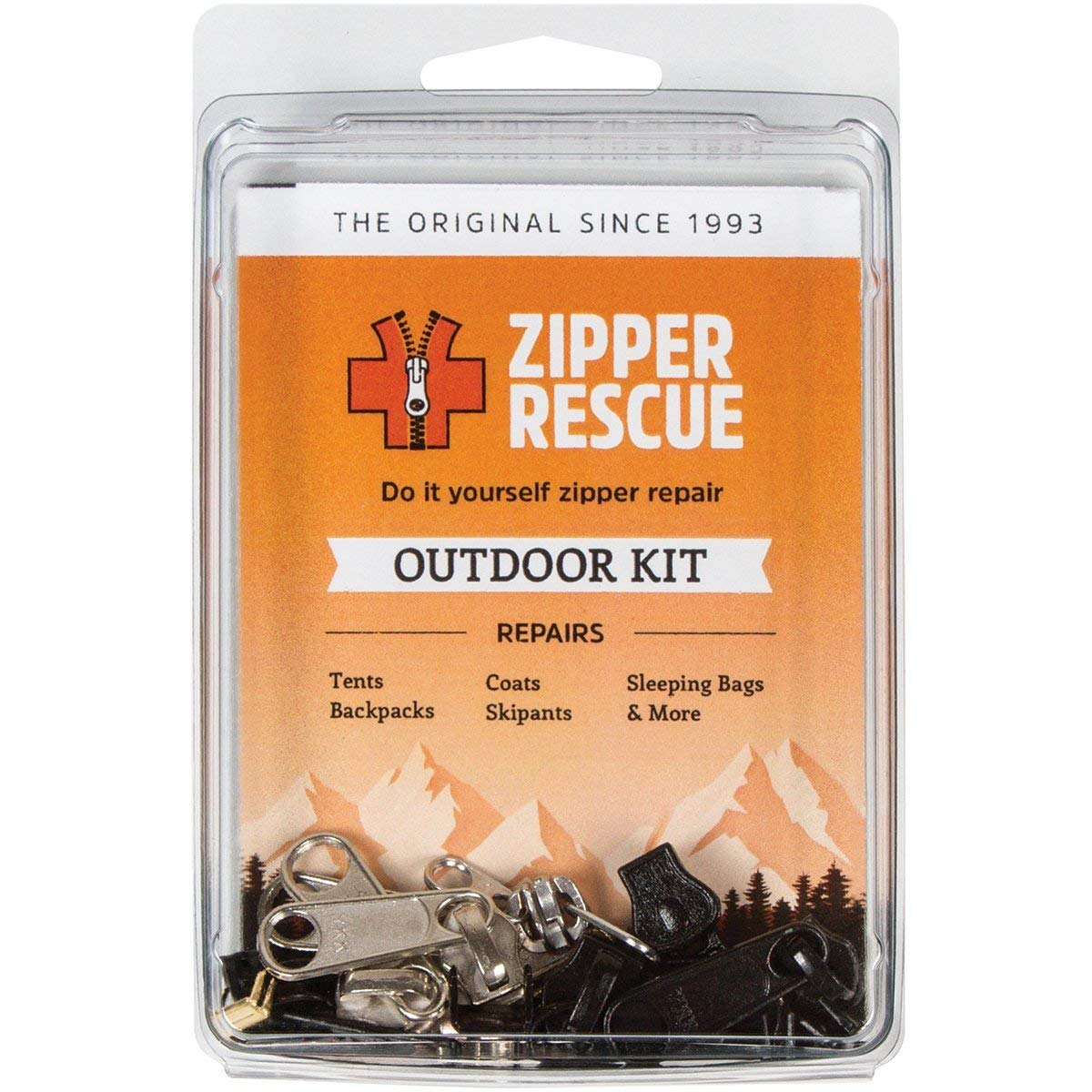 Zipper Rescue. Zipper Repair Kit. Outdoor