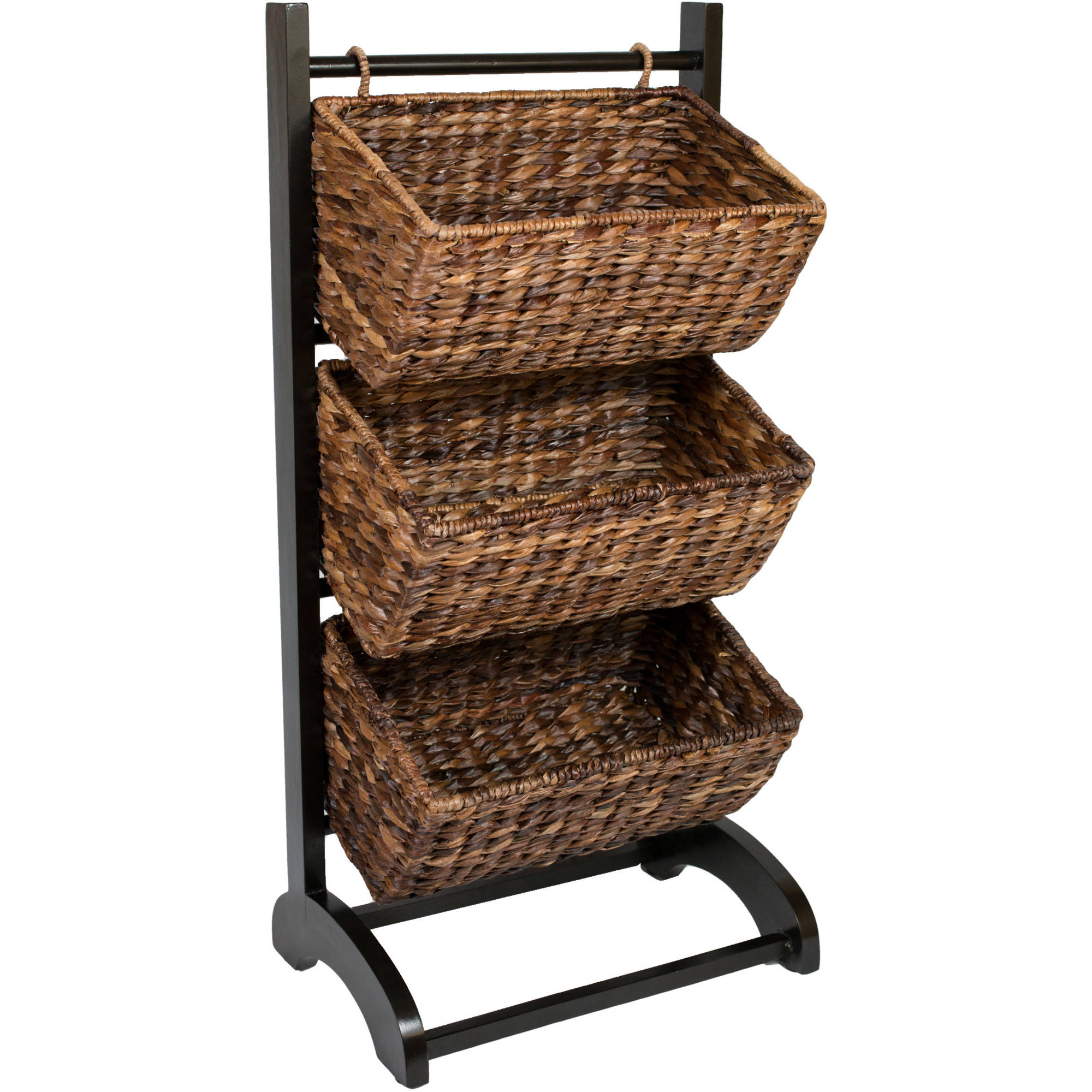 BirdRock Home Abaca 3-Tier Storage Cubby