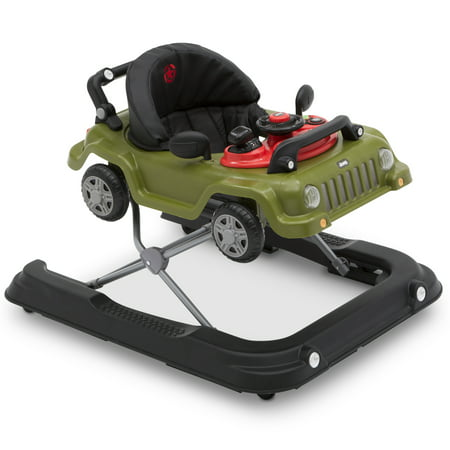 Jeep Classic Wrangler 3-in-1 Activity Walker by Delta Children, Anniversary