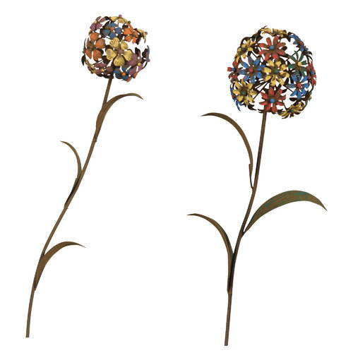 Wilco Home 2 Piece Flower D cor Set