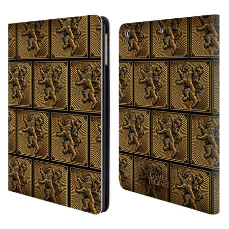 OFFICIAL HBO GAME OF THRONES GOLDEN SIGILS LEATHER BOOK WALLET CASE COVER FOR APPLE (Best Bejeweled Game Ipad)