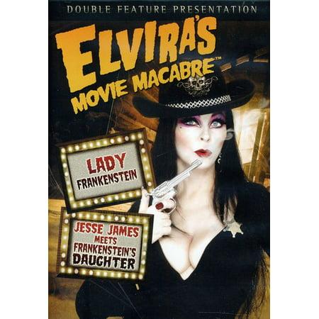 Elvira's Movie Macabre: Lady Frankenstein/Jesse James Meets