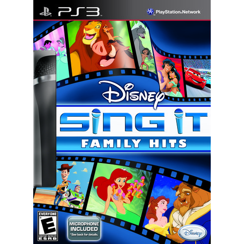 disney sing it: family hits bundle - playstation 3