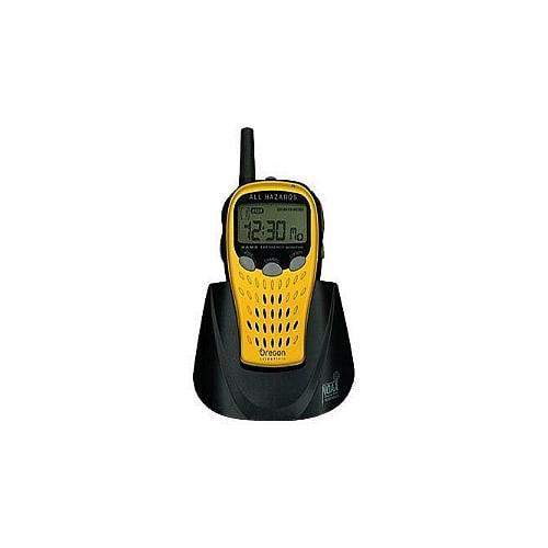Oregon Scientific WR601N - Weather alert radio - yellow