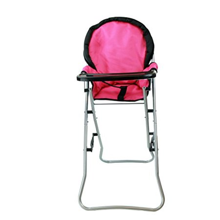 Mommy & Me 3 in 1 Doll Play Set 1 Doll Pack N Play. 2 Doll Bouncer 3.Doll High Chair. Fits 18'' Doll - image 4 of 4