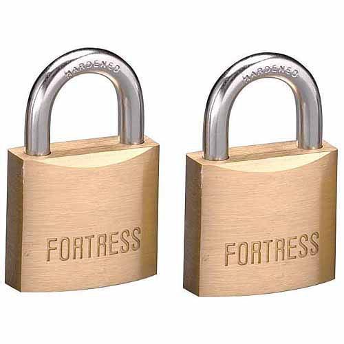 Master Lock 1830T 2-Count #1830 Solid Brass Padlocks