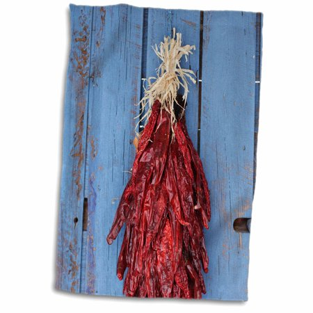3dRose Chili Ristras, Santa Fe, New Mexico, USA - US32 JMR1349 - Julien McRoberts - Towel, 15 by