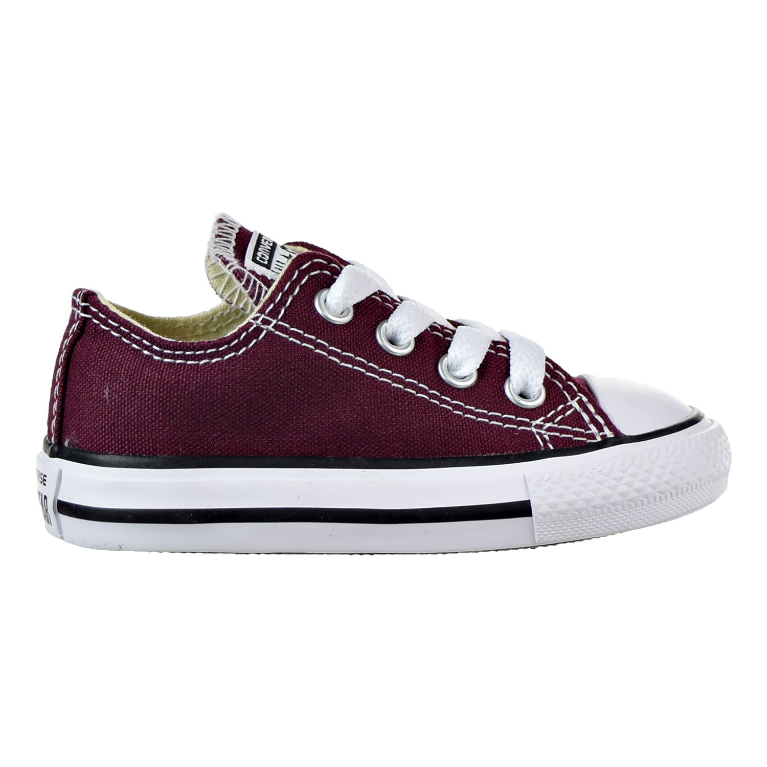 c64c0cf1b4cb78 Converse Chuck Taylor All Star Ox Toddler Shoes Burgundy 739794f -  Walmart.com
