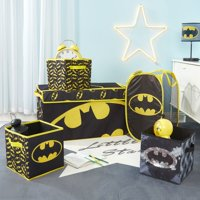 Batman Storage Set (Trunk, 2 pack cubes, Sequin Cube and Hamper)