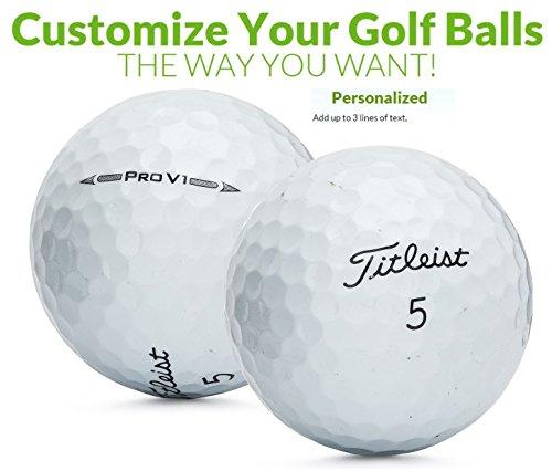 3 Dozen Titleist Pro V1 Personalzied Golf Balls Upload Your Own Logo Or Text