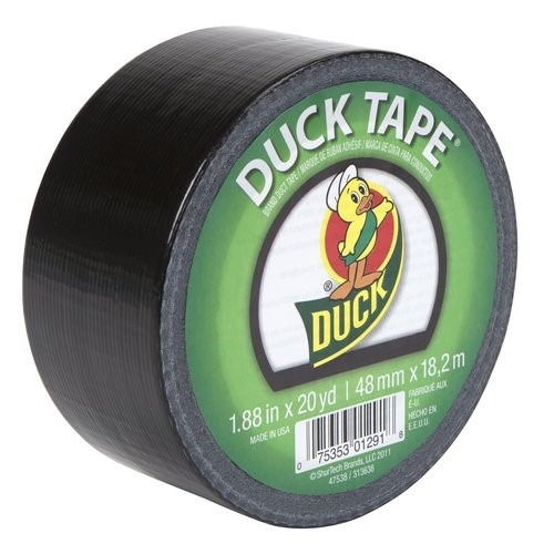 Duck Brand Duct Tape, Black