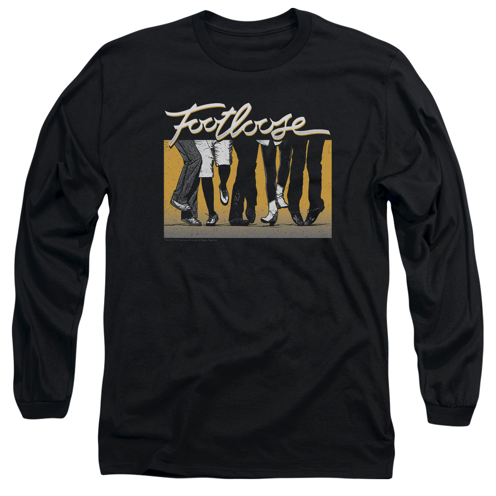 Footloose Dance Party Mens Long Sleeve Shirt