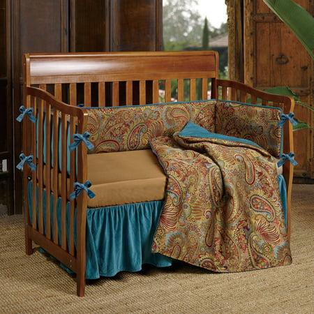 Black Forest Decor Baby San Angelo Crib Bedding Set 3 Pcs